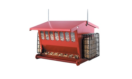 Heritage Farms HF7452R Seeds N More Bird Feeder (Goods For The Home Patio & Garden Bird Feeders & Food) photo