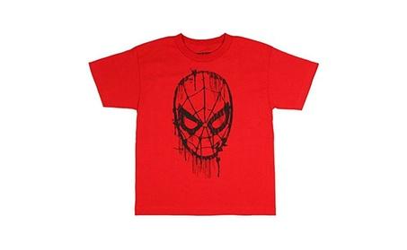 The Amazing Spider-Man Big Boys Web Head Drips Graphic T Shirt ff1079cb-fdb2-4077-b84a-e09e046e2c68