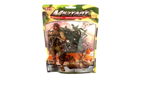 Toy Figurine Military 38pc 65fcac64-3823-4b43-8265-43d99475cb7a