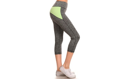 Seamless Performance Capri Legging Size: S-M-L 8686c31e-d8ef-4f40-8dd3-d831fb189124