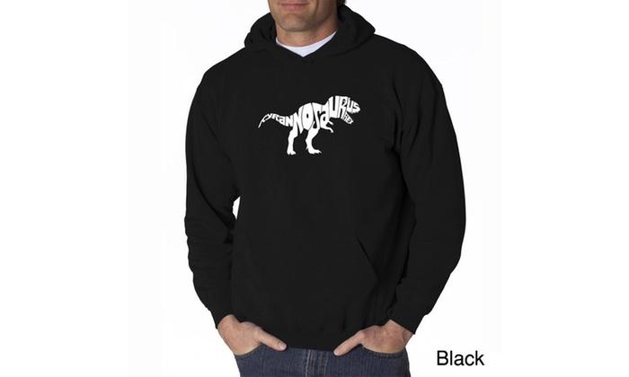 Men's Hooded Sweatshirt - TYRANNOSAURUS REX