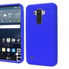 Insten Rugged Soft Rubber Cover Case For Lg G Stylo Blue
