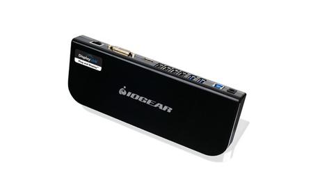 Iogear GUD300 USB 3.0 Universal Docking Station with Power Adapter, bk 56d916fb-1b49-40f9-b59e-326712d7de78