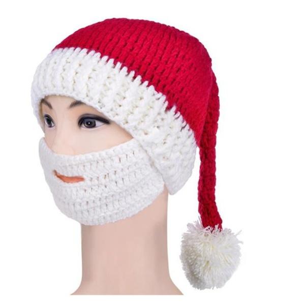Crochet Beard Beanie Mustache Mask Face Warmer Ski Hat Groupon