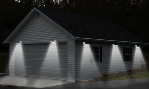 Solar Power LED Motion Sensor Light (1-, 2-, or 4-Pack)