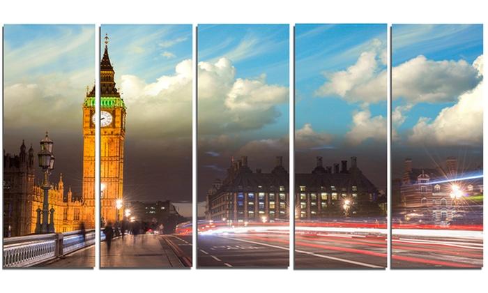 Big Ben from Westminster Bridge - Cityscape Photo Metal Wall Art ...