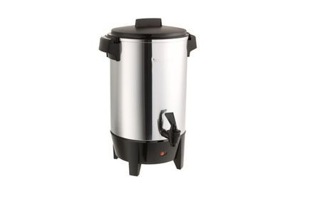 West Bend Highly-Polished Aluminum Commercial Coffee Urn a0d59c0e-170a-4f7c-8458-7f80d2250f31