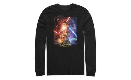 Fifth Sun Star Wars Episode VII Movie Poster Mens Long Sleeve Shirt b402a16c-9580-4019-aae8-57bd5679e9d1
