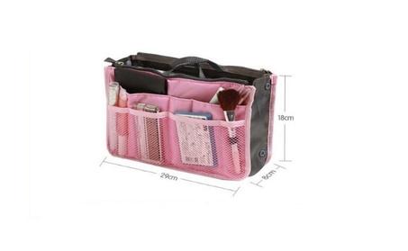 Portable Travel Storage Organiser Mesh Toiletries Make up Bag 1a8e7345-b264-427f-84af-22c6b50c7f0d