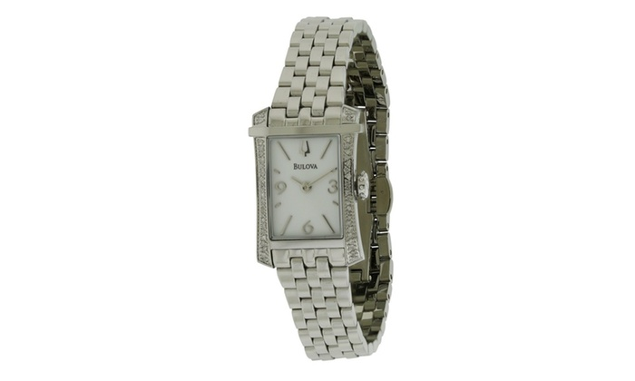 Bulova Diamond Gallery Winslow La s Watch 96R186