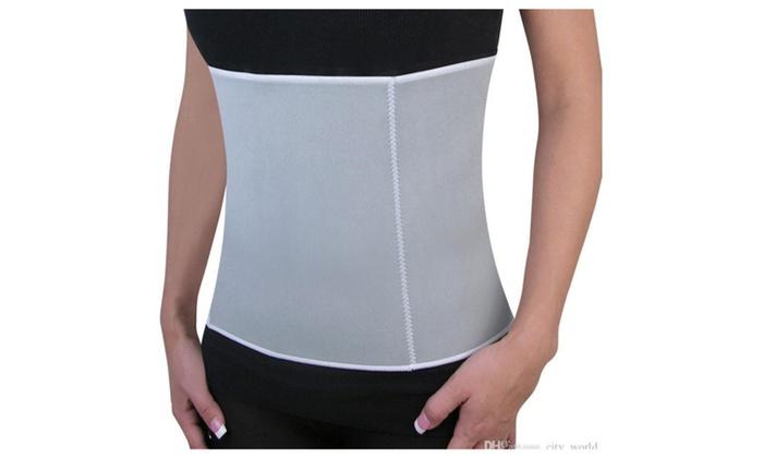 Weight Loss Slimming Belt with Zipper Adjustable Slimming Belt