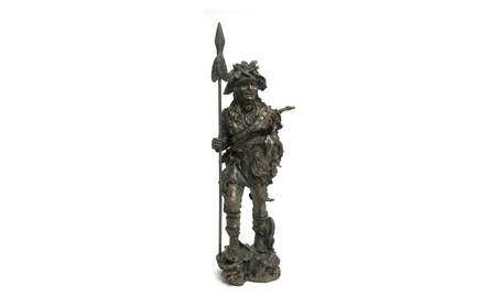 Native American Warrior Chief With Spear Statue dc72950a-5ceb-4d66-81b1-2c381a78e38c