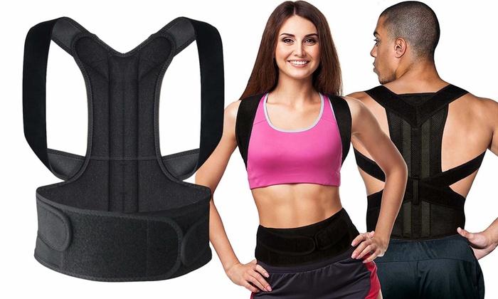 d9e0e42f990 New Posture Corrector Back Support Brace Pain Relief for Men   Women