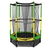 """55"""" Trampoline Kids Youth Jumping Round Bounce With Safety Pad"""