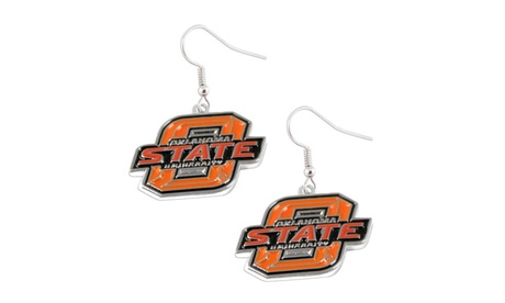 Oklahoma State Cowboys Dangle Earring Set NCAA Charm Gift f09f6723-1f1d-4ae7-968a-8ebd401acbcd