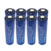 Loopacell AA 2100mAh Rechargeable Precharged Ni-MH HR6 Batteries 8 Pac