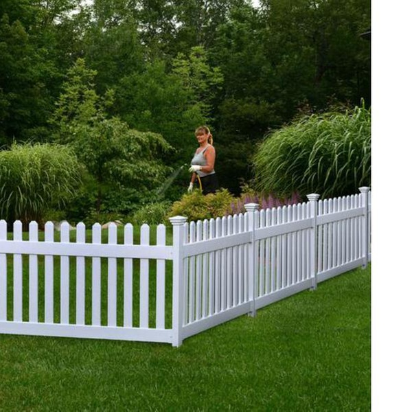Up To 33 Off On Zippity Newport Picket Fence Groupon Goods