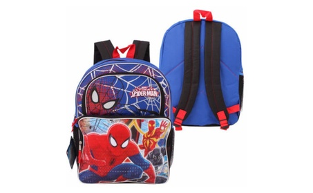 "Spider-Man Cargo Basic Backpack - 16"", Back To School Supplies e3622dd5-5bdc-452c-85c2-c4d0d9e98465"