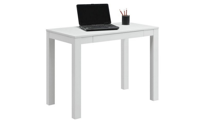 Mainstays Parsons Desk With Drawer Groupon