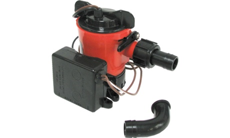 JOHNSON PUMPS 07703-00 Ultima Combo Bilge Pump 750GPH, 12V photo
