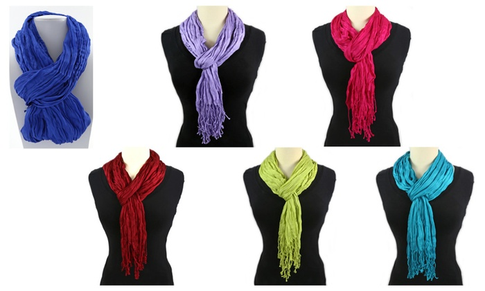 Thai Twisted Shawl - Several Colors