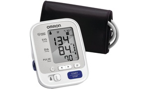 Omron 5 Series Upper-Arm Blood Pressure Monitor with Wide-Range Cuff