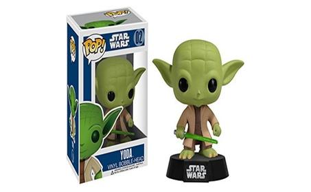 Yoda: Funko POP! x Star Wars Vinyl Bobble-Head Figure w/ Stand - green 8f72d2ba-d690-4fb7-b00b-903fe98c1ce6