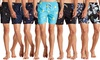 Mens Swim Trunks Board Shorts Suits Elastic Waist Drawstring