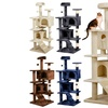 Topeakmart Cat Tree Tower Scratching Post Pet House Kitten 4 Colors