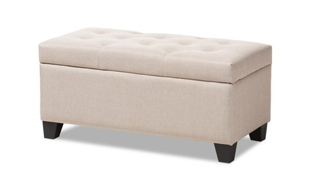 Wilson Tufted Storage Ottoman (3 Colors Available)