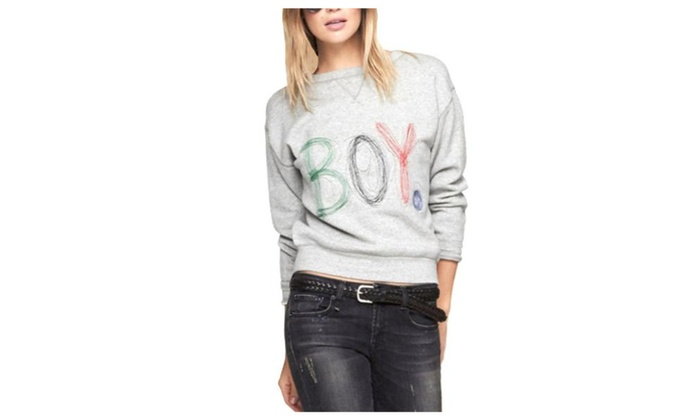 Women's Loose Fit Long Sleeve Pullovers Sweater