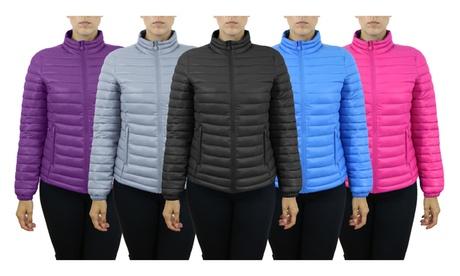 Women's Lightweight Puffer Jackets With Zipper Pockets 4259e1a6-fe55-4432-a130-a8b19b5d271a