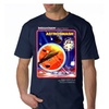 Intellivision Ashromash Cover Men's Navy T-shirt NEW Sizes S-2XL