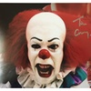 "TIM CURRY Pennywise the Clown ""IT"" Signed 8x10 Photo PSA/DNA COA"