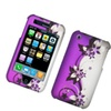 Insten Vine Flower Hard Cover Case For Apple iPhone 3G/3GS