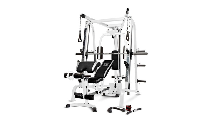 Marcy Diamond Smith Cage Workout Machine Total Body Training Home Gym