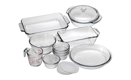 Anchor Hocking Oven Basics 15-Piece Glass Bakeware Set 6756bdab-e902-4ed9-9f5e-db6bce7e99de