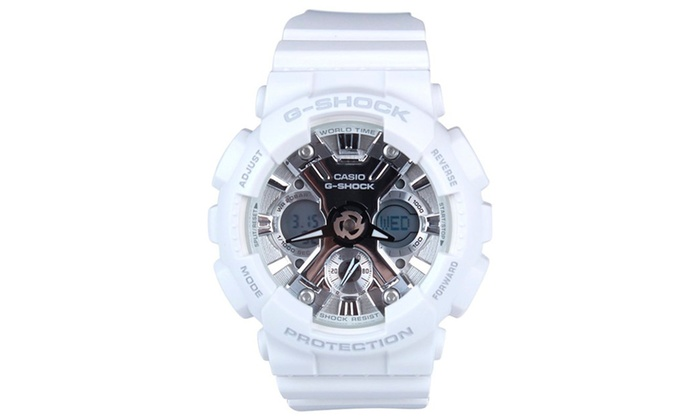 2472a5ef0762 Casio G-Shock GMAS120MF-7A1 S Series Watch - White