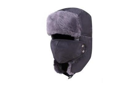 Mens Womens Winter Warm Thickened Mask Wind And Snow Hat 5382e0e3-a55b-49f7-b85a-6de45e3d30f0