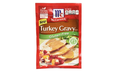 Mccormick Turkey Gravy Mix, Gluten Free, 0.88 Oz (Pack of 12) 071eb21c-a498-4705-9672-b3de3181c958