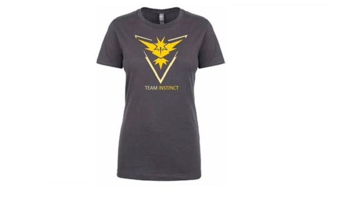 Team INSTINCT Mystic Valor Funny Cotton  T-shirts