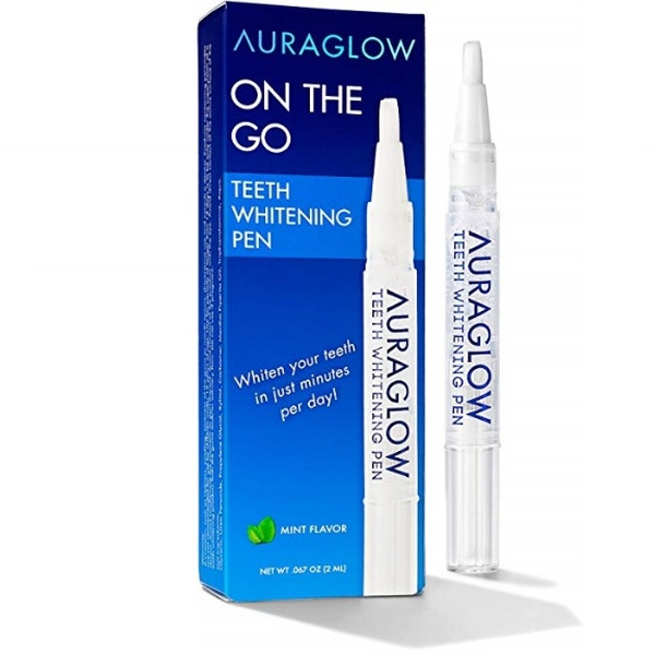 Up To 45 Off On Auraglow Teeth Whitening Pen Groupon Goods