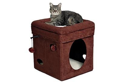 Curious Cat Cube, Cat House / Cat Condo 245696d1-7c0b-4c59-b9e1-3b8e5e2077be