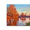David Lloyd Glover 'Reflected Impressions' Canvas Art