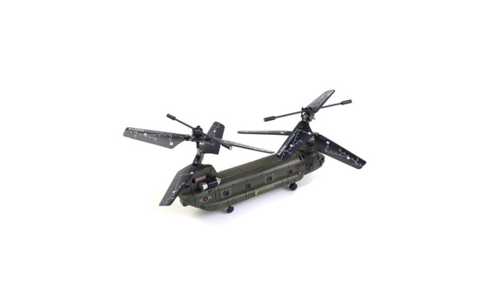 New Syma S026G 3CH Remote Control Mini Chinook RC Helicopter With GYRO