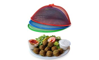 Mesh Screen Food Cover Tents (3-Pack)