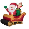 Airblown Inflatables Santa with Sleigh Inflatable
