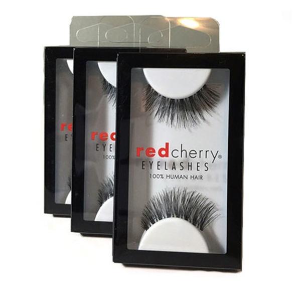 c5d586a2902 (3 Pairs) Red Cherry Lashes #43 Stevi False Eyelashes Human Hair | Groupon