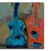 Boyer 'Red and Blue' Canvas Art