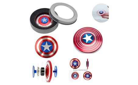 Captain America Fidget Hand Spinner captain america shield fidget 8d112be9-a505-4895-803b-09a803468288